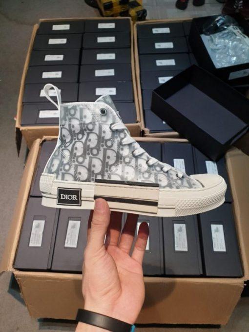 Giay Dior Sneaker co cao H&S Sneaker