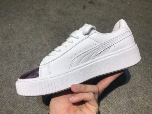 Giay Puma mui hong bong H&S Sneaker