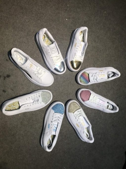 Giay Puma mui kim tuyen H&S Sneaker
