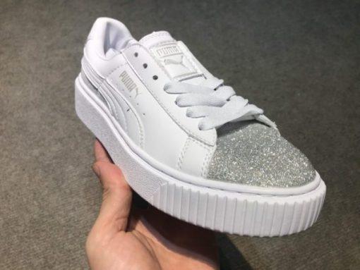 Giay Puma mui nhu bac H&S Sneaker