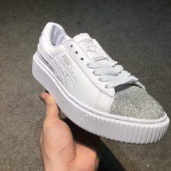 Giay Puma mui nhu bac HS Sneaker