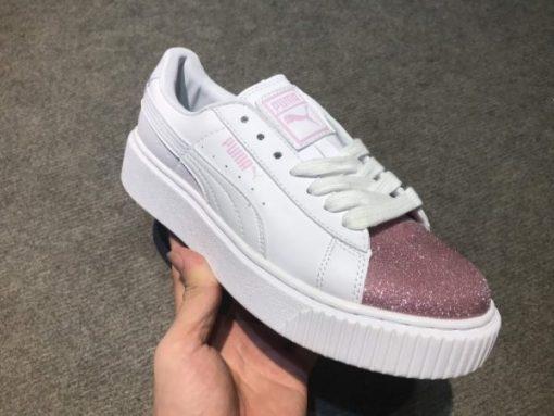 Giay Puma mui nhu hong H&S Sneaker
