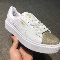 Giay Puma mui nhu vang H&S Sneaker