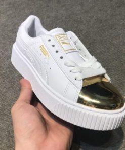 Giay Puma mui vang bong H&S Sneaker