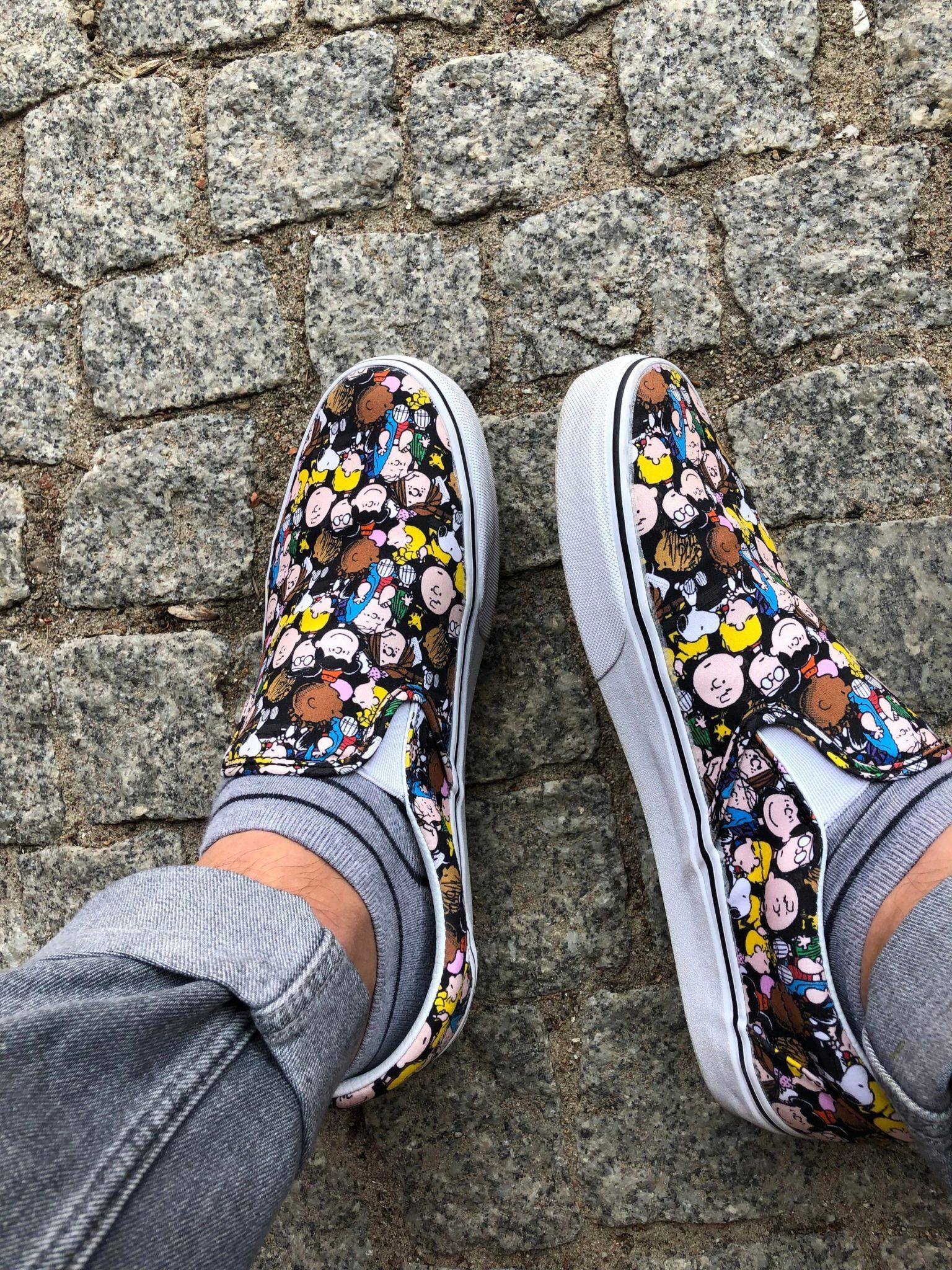 Giay VANS x PEANUTS Rep Gia re H&S Sneaker