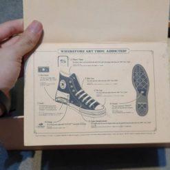 Giay converse 1970s addict replica xanh hong co cao H&S Sneaker