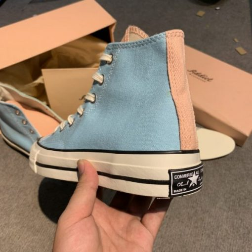 Giay converse 1970s replica xanh hong co cao H&S Sneaker