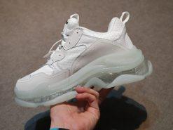 balenciaga triple s rep trang de trong H&S Sneaker