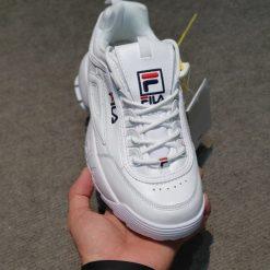giay fila disruptor rep trang H&S Sneaker