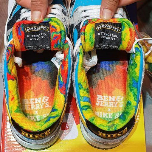 Giay Nike SB Dunk Low Ben & Jerry's Chunky Dunky giay nike bo sua rep 11 gia re ha noi