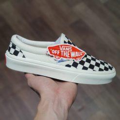 Giay Vans Slip-On Checkerboard rep11 gia re