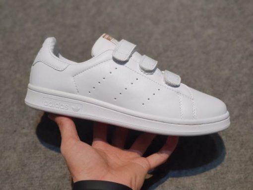 Adidas Stan Smith CF quai dinh gia re mau vang