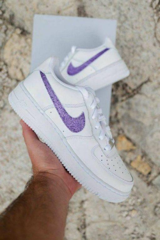 Custom Giay Nike Air Force 1 ban nhu kim tuyen (Order)