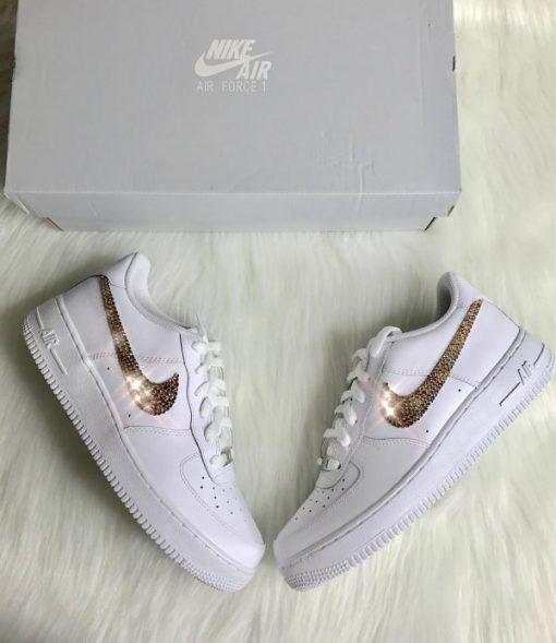 Custom giay Nike AF1 mau dinh da ha noi order