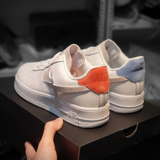 Giay Nike Air Force 1 LX vandalized do tim