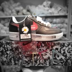Nike Air Force 1 Low G-Dragon Peaceminusone Para-Noise den do doc quyen tai Han Quoc