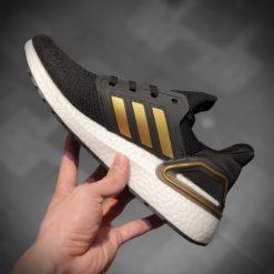 Giay Adidas Ultra Boost 2020 mau den got vang