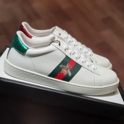 Giay Gucci Ace bee Gucci Ong vang 431942 A38G0 9064 rep 11 gia re ha noi