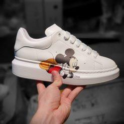 Giay MCQueen x Disney chuot Mickey