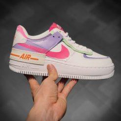 giay Nike Air Force 1 Shadow Rep Ha Noi tim hong mau 5