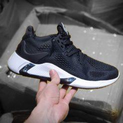 giay Adidas Alpha Bounce Edge XT den de trang