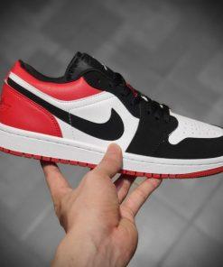 Giay Nike Air Jordan 1S Low thap co mau den do