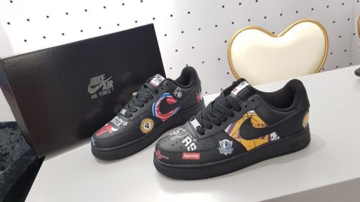 Giay Nike Air Force 1 Supreme Chicago Bulls den co thap gia re ha noi