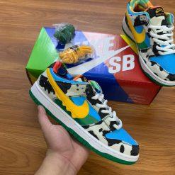 giay Nike SB Dunk Low Ben & Jerry's Chunky Dunky nike bo sua