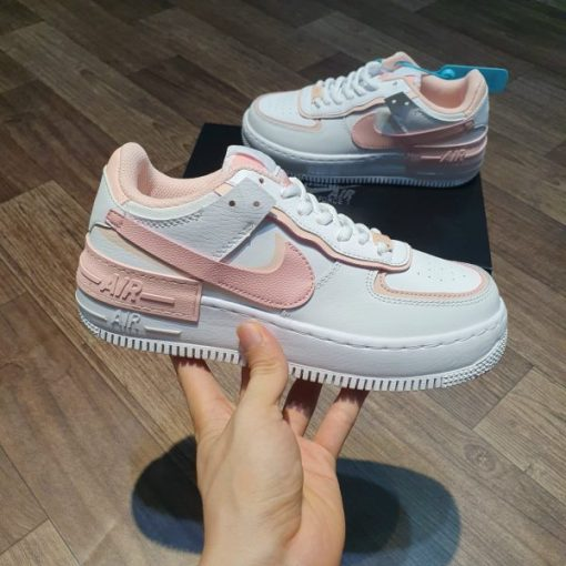 Giày Nike Air Force 1 Shadow Summit White Coral Pink
