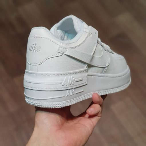 Nike Air Force 1 Shadow all White trắng Full