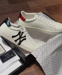 Giay Gucci Ace Leather logo NY