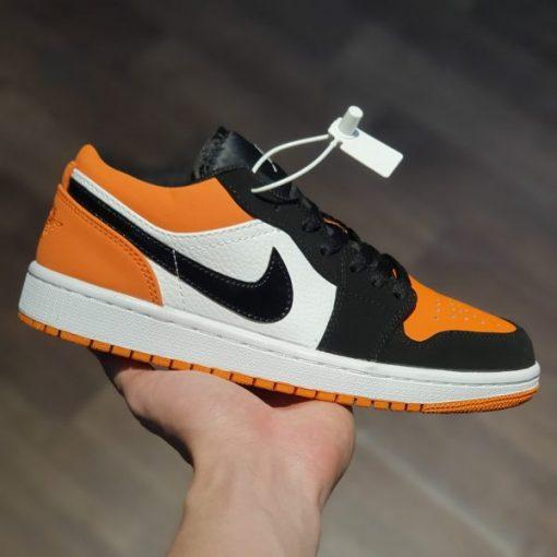 Giay Nike Air Jordan 1 Low Shattered Backboard jd den cam co thap