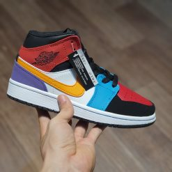 Nike Air Jordan 1 Mid GS 'Multi Color' nhiều màu