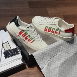 giay Gucci Ace Sneaker with Gucci Blade