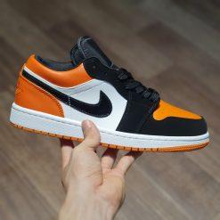 giay Nike Air Jordan 1 Low Shattered Backboard trang cam co thap