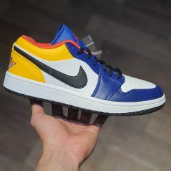 giay Nike Air Jordan 1 Low Royal Yellow