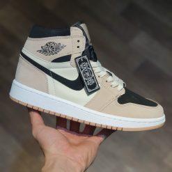 giay Nike Air Jordan 1 Mid Chrome Wings