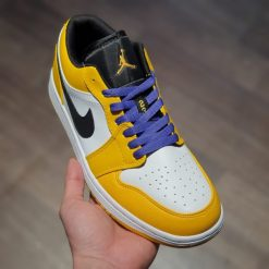 Giay Nike Air Jordan 1 Low Laser Orange jd co thap trang vang