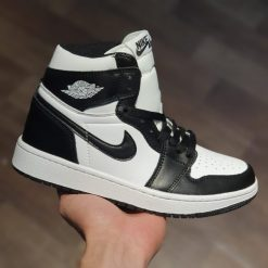 Giày Nike Air Jordan 1 Retro High OG Black White Replica 1:1 ( Jordan 1s Panda replica 1:1)