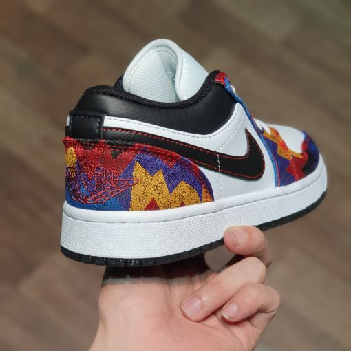 Nike Air Jordan 1 Low Nothing But Net JD1 tho cam