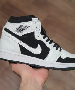 Nike Air Jordan 1 Mid White Black