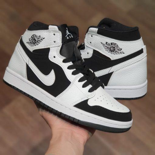 Nike Air Jordan 1 Mid White Black