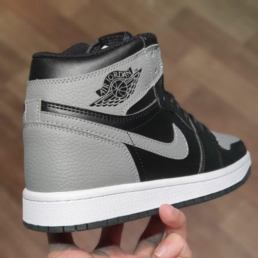 Nike Air Jordan 1 Retro High OG Shadow BlackSoft Grey Leather