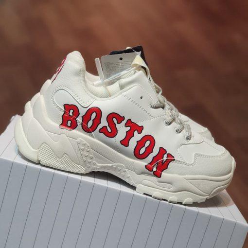 Giay MLB BigBall Chunky P Boston Red Sox 32SHC2011-43I chu Boston rep 11 gia re ha noi