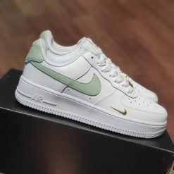 Giay Nike Air Force 1 07 Trainers White Light Silver rep 11 gia re ha noi