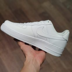 Giay Nike Air Force 1 All White Like Auth trang full