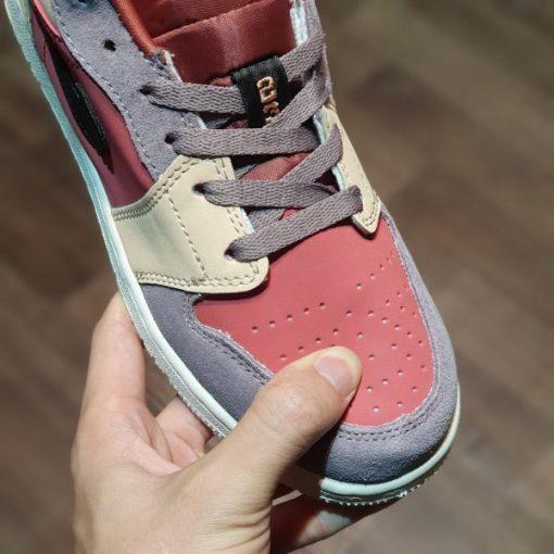 """Giày Nike Air Jordan 1s """"Canyon Rust"""" cổ thấp"""