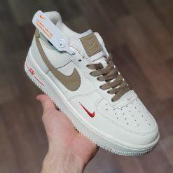 giay Nike Air Force 1 Low Premium White Brown '808788-996' AF1 vien nau like auth sieu cap gia re ha noi