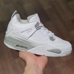 giay nike air Jordan 4 Retro White Oreo 2021 CT8527-100 jordan 4s trang full rep 11 gia re ha noi
