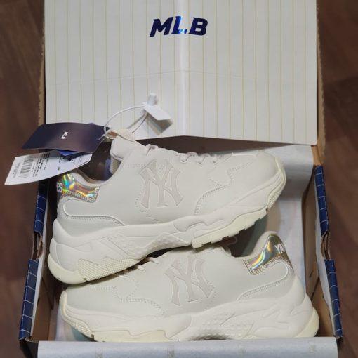 giay sneaker MLB Big Ball Chunky Shiny New York Yankees 32SHCH011-50L mlb got holo vang rep 11 gia re ha noi